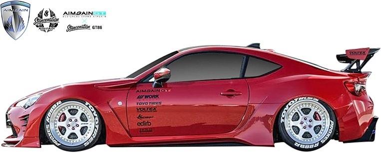 【M's】トヨタ 86 ハチロク ZN6 / スバル BRZ ZC6 (前期/後期) AIMGAIN カーボンGTウイング (VOLTEX ver.) CARBON CFRP エイムゲイン 外装_画像6