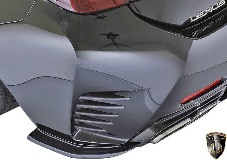 【M's】LEXUS 前期 RC F-SPORT (2014.10-2018.9) AIMGAIN 純VIP SPORT リヤアンダースポイラー // FRP エイムゲイン エアロ パーツ 外装_画像1