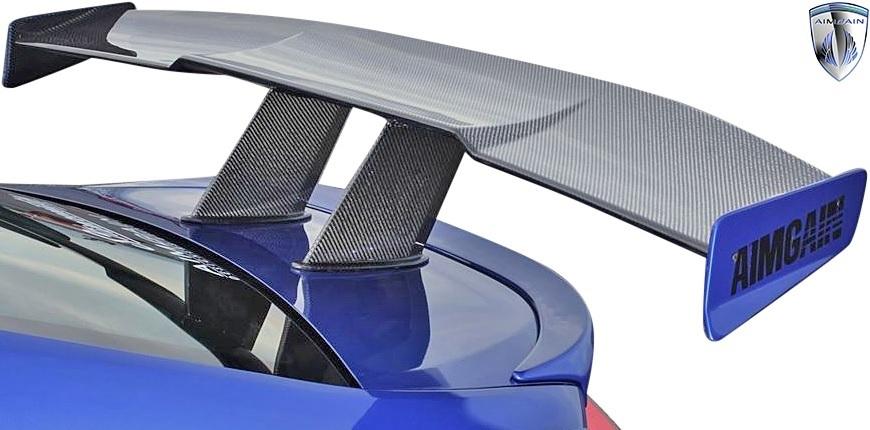 【M's】スバル BRZ ZC6 / トヨタ 86 ハチロク ZN6 (前期/後期) AIMGAIN カーボン GTウイング (1700mm) CARBON CFRP エイムゲイン エアロ_画像2