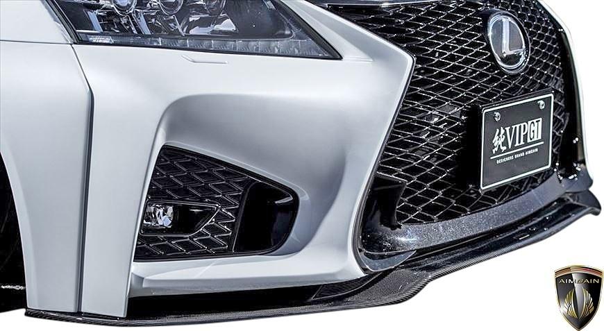 【M's】レクサス 前期 10系 GS350 GS250 (2012.1-2015.11) AIMGAIN 純VIP GT フロントバンパー // FRP エイムゲイン エアロ パーツ GS_画像3