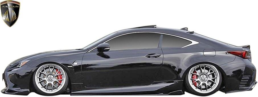 【M's】LEXUS 前期 RC F-SPORT (2014.10-2018.9) AIMGAIN 純VIP SPORT リヤアンダースポイラー // FRP エイムゲイン エアロ パーツ 外装_画像7