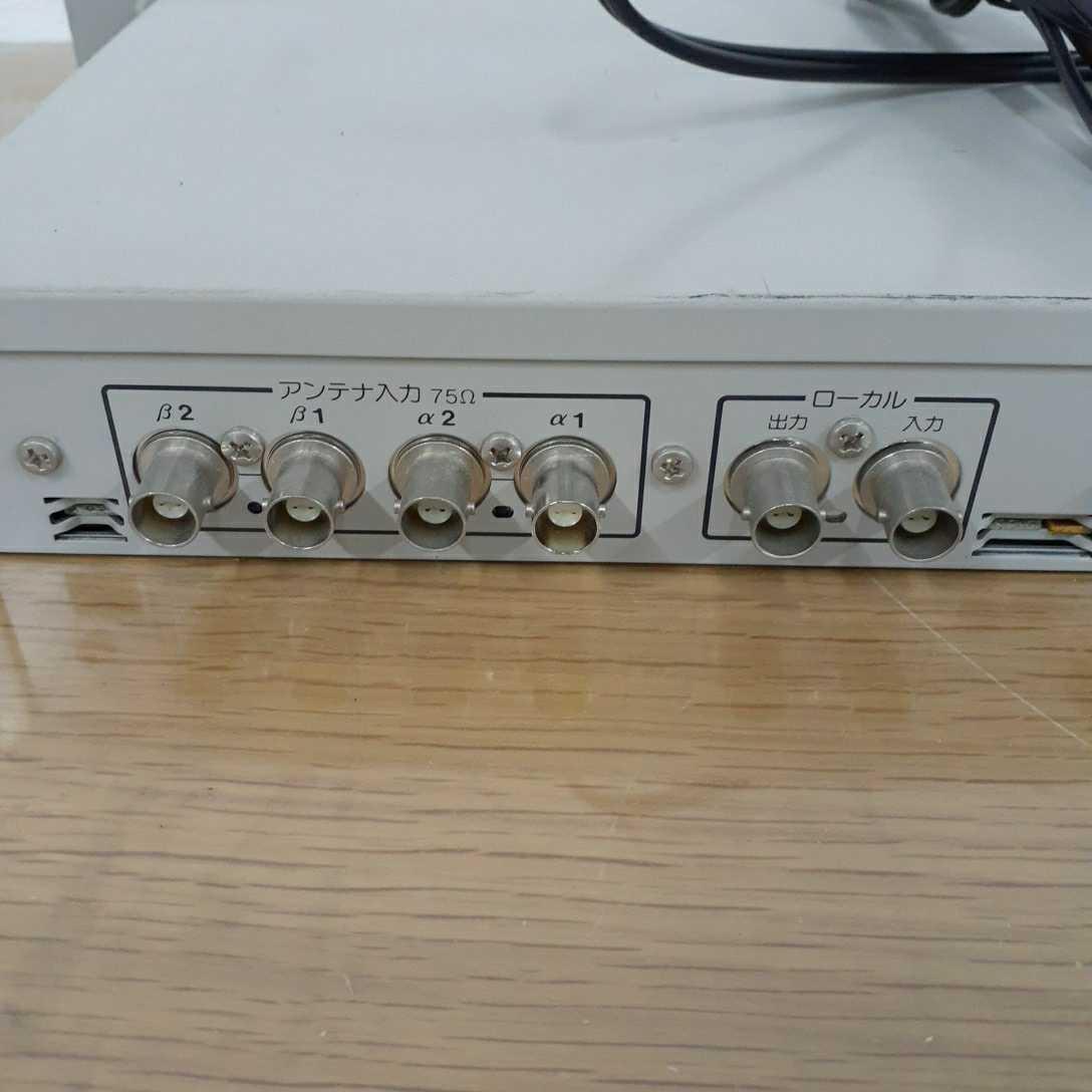 Panasonic パナソニック PPLワイヤレス受信機 WX-4020 通電確認のみ 210225 _画像4