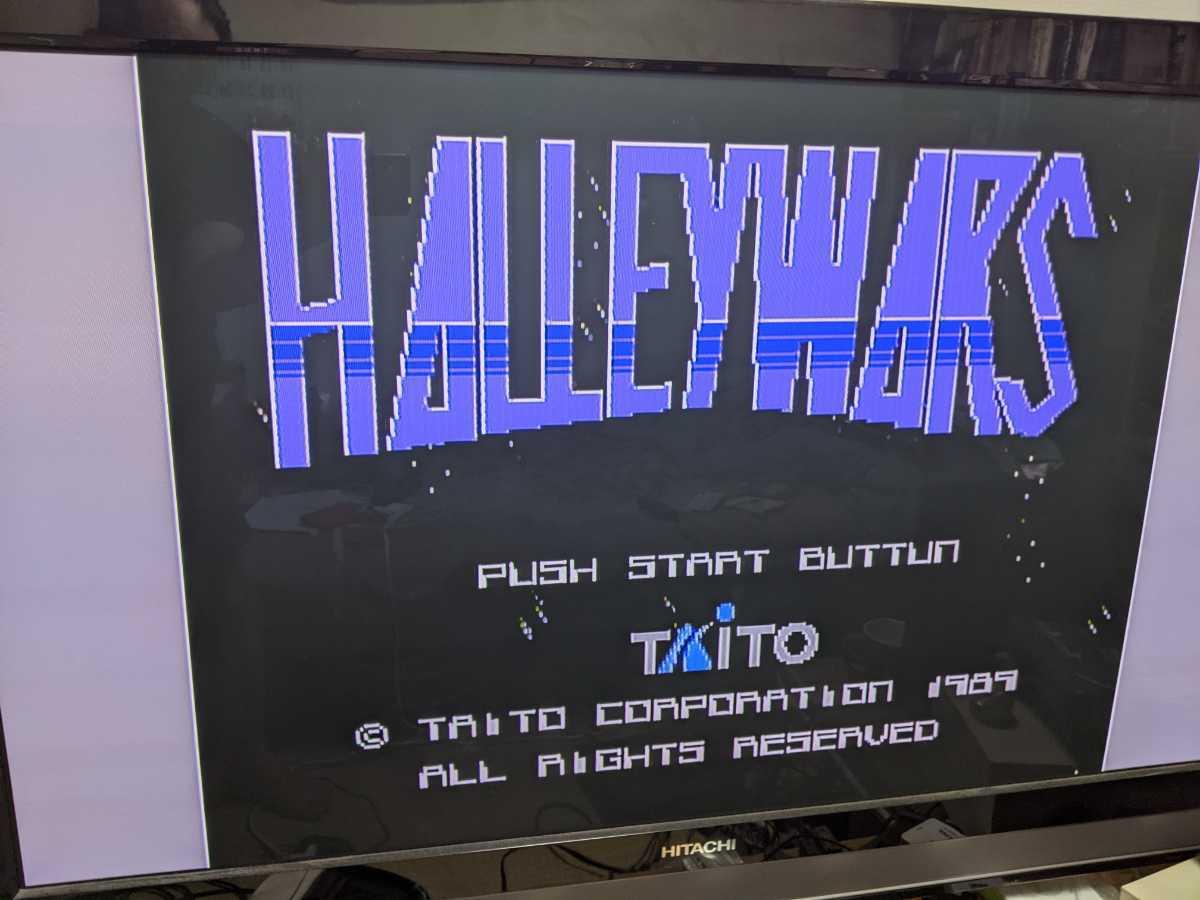 Family computer disk system for Hare - War s start-up verification settled Famicom HALLEY WARS