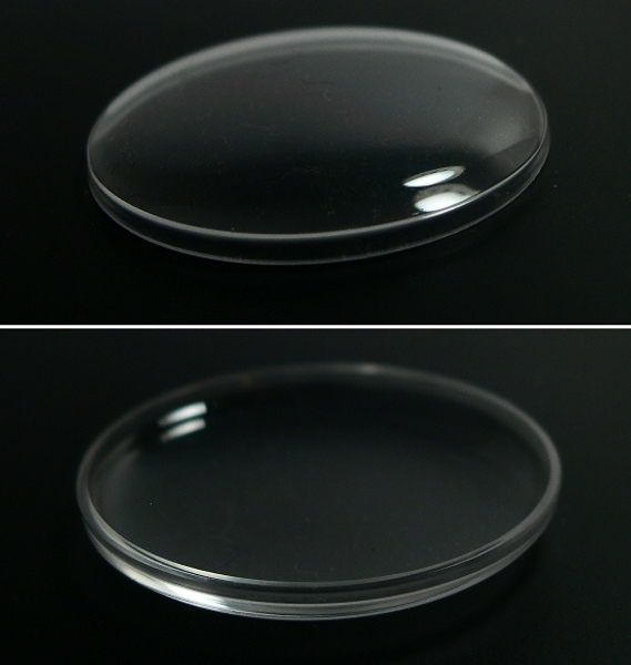30.8mm ドーム形プラ風防 (アクリル) 新品 _画像3