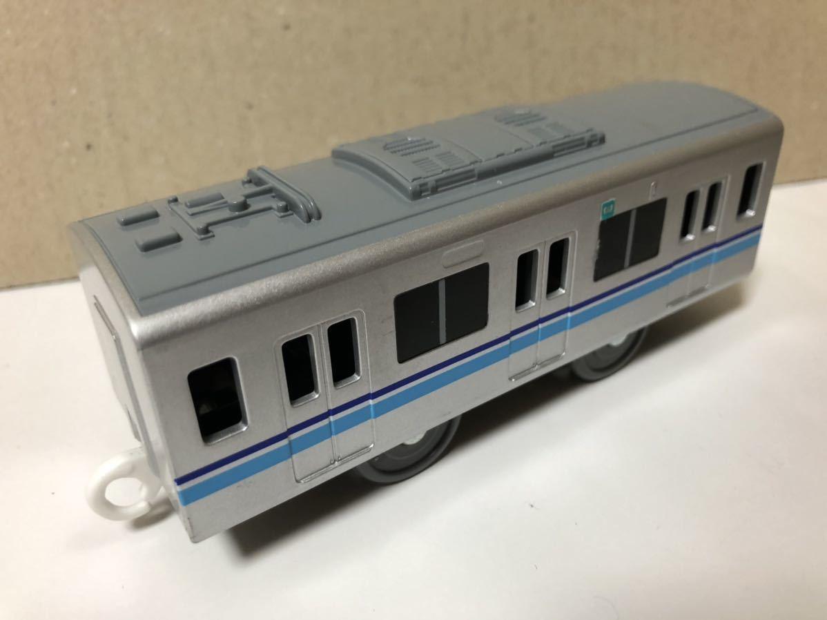 【プラレール】ライト付 東京メトロ東西線 05系 中間車_画像1