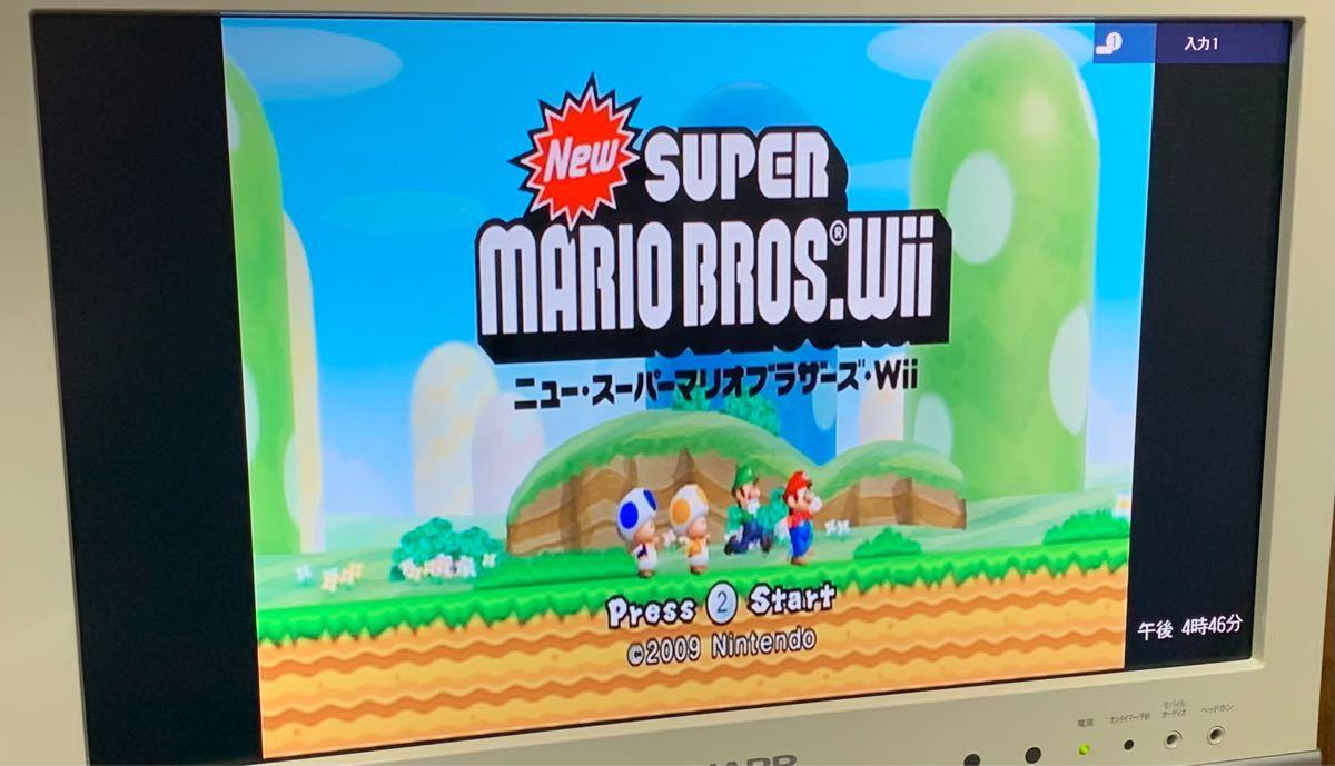 【任天堂Wii】毛糸のカービィ NewスーパーマリオブラザーズWii 2点セット