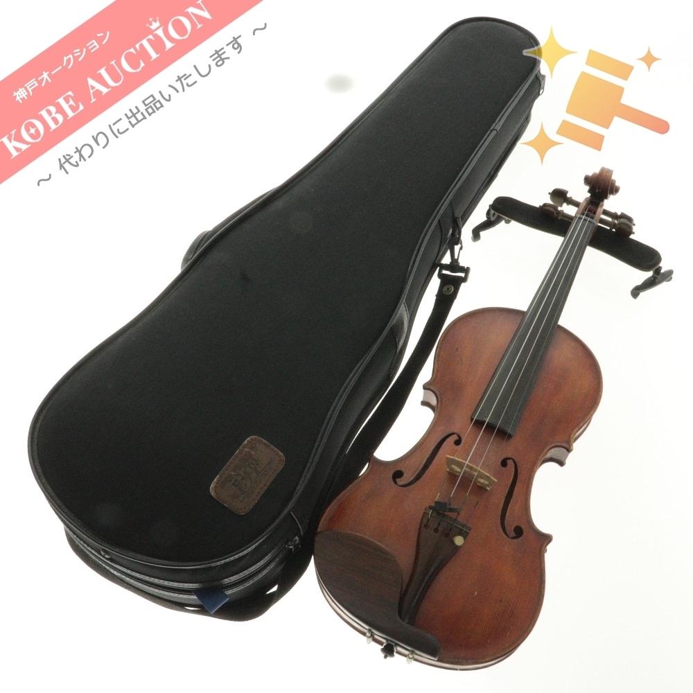 ■ 田中 和彦 Kazuhiko Tanaka バイオリン ヴァイオリン 弦楽器 楽器 全長約59.5cm ケース付き 中古