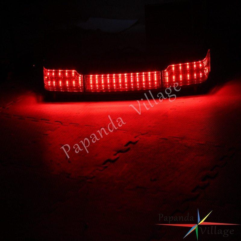 ★新品★オートバイ クローム ランニングブレーキライト LED テールライト カスタム 高品質 ハーレーツーリング クラシック 1997-2008_画像6