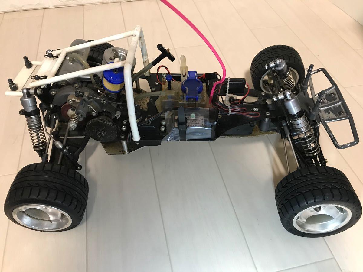 タミヤ 初代エンジンカー TR-15T  後輪駆動 週末値下げ
