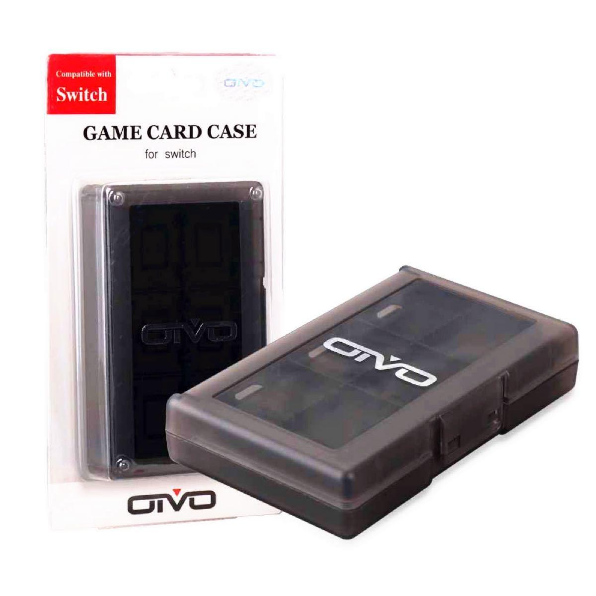 ニンテンドー スイッチ 対応 任天堂スイッチ カードケース24(ブラック) for Nintendo Switch カードケース