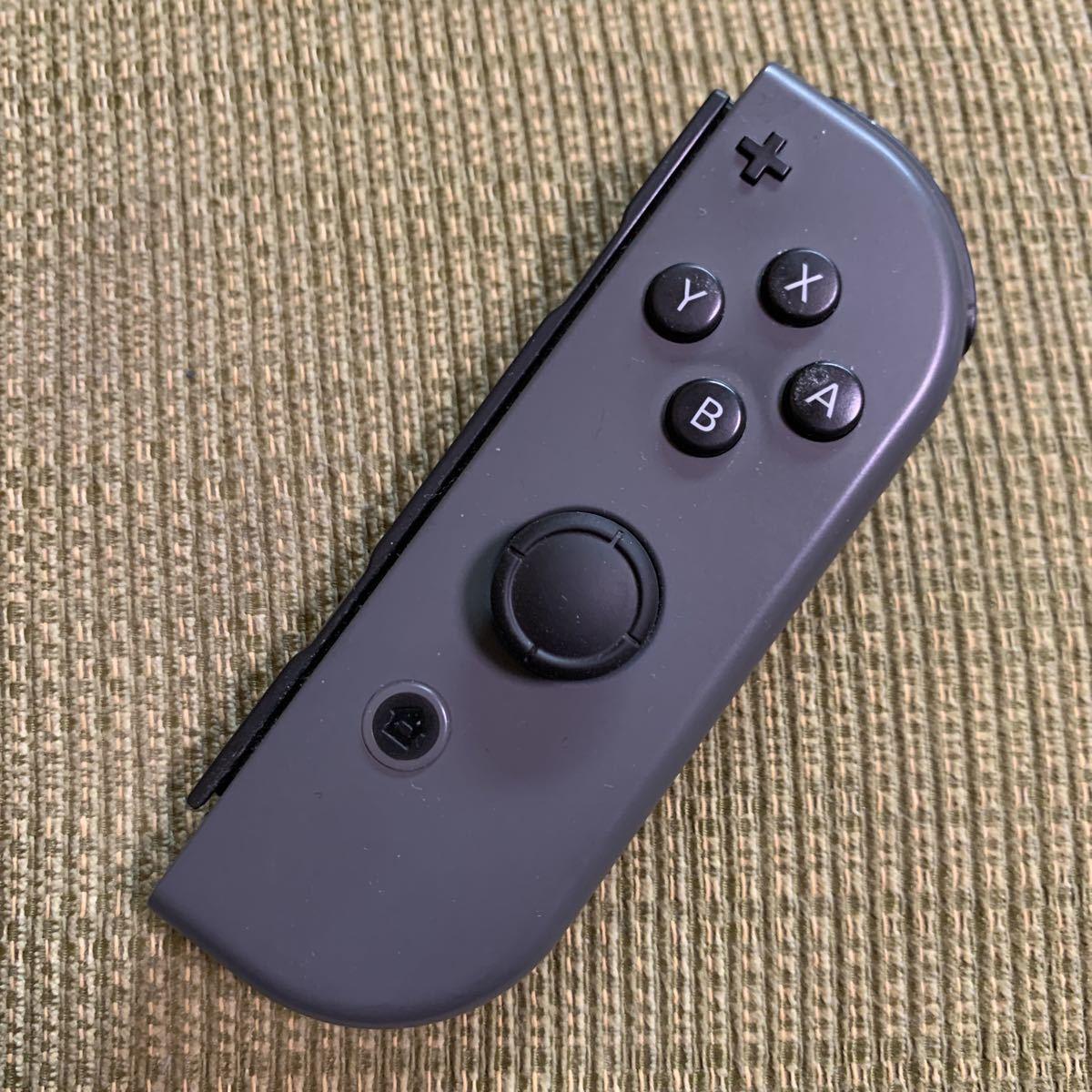 動作確認済み Nintendo Switch Joy-Con(R) グレー R + 右 灰色 任天堂 ニンテンドースイッチジョイコン コントローラー 任天堂 リモコン
