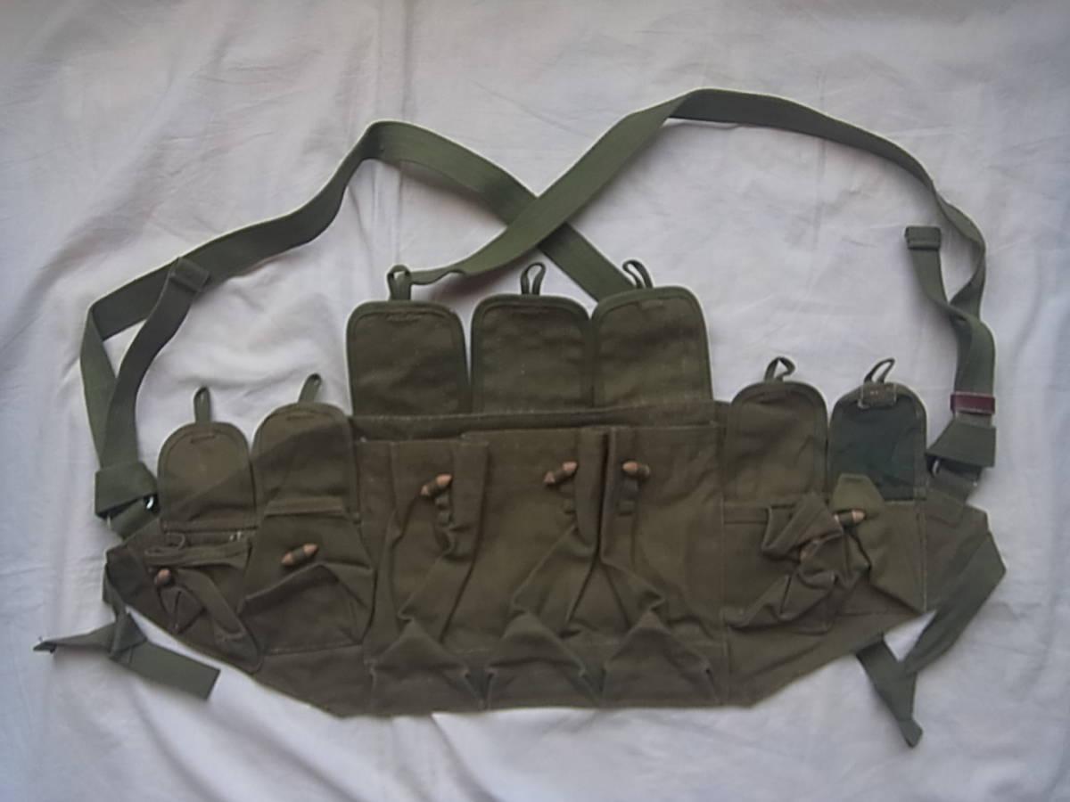実物 ローデシア軍 AK47 FAL 56式 マガジンチェストリグポーチ 70年代捕獲品 特殊部隊 セルーススカウツ RLI SAS 南アフリカ RECCE 32大隊_画像1