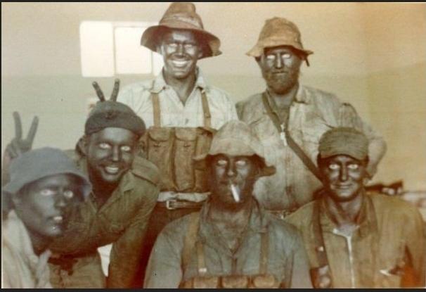 実物 ローデシア軍 AK47 FAL 56式 マガジンチェストリグポーチ 70年代捕獲品 特殊部隊 セルーススカウツ RLI SAS 南アフリカ RECCE 32大隊_南アフリカ軍特殊部隊RECCE