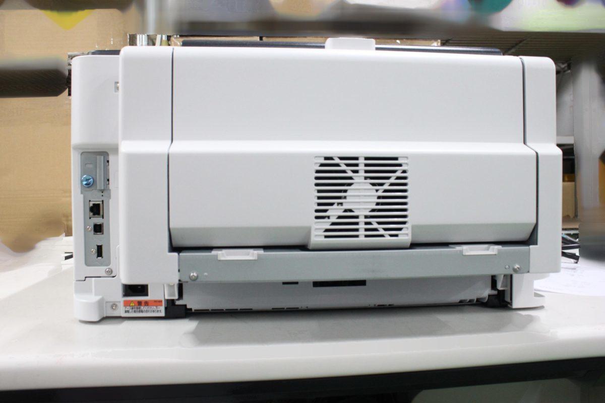 西濃運輸発送 カウンター7078枚 セルフ印刷OK Canon Satera LBP443i A3対応 レーザービーム モノクロプリンター キヤノン O021811_画像6