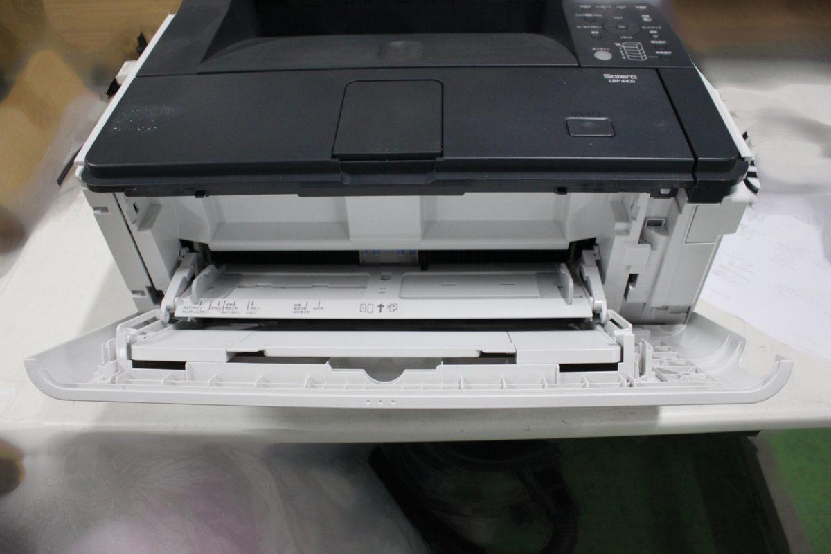 西濃運輸発送 カウンター7078枚 セルフ印刷OK Canon Satera LBP443i A3対応 レーザービーム モノクロプリンター キヤノン O021811_画像2