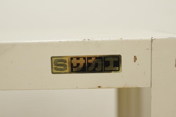 サカエ SAKAE キャスターワゴン ツールワゴン 作業台 スチール 工具 2段 台車 カート 収納 整理整頓_画像9