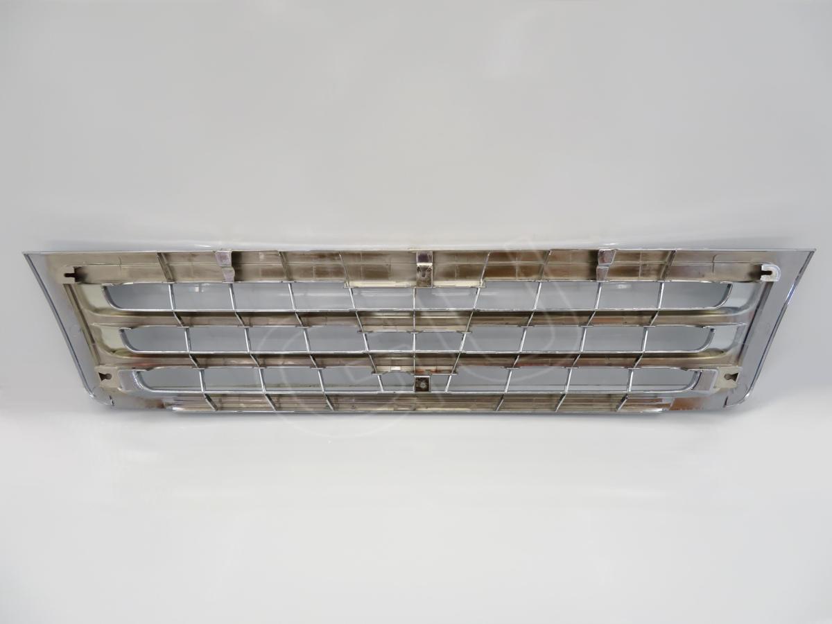 ◆ トヨタ コースター B40 B50 系 H19~H28 後期 フロント ラジエーター グリル クローム メッキ マイクロ バス TOYOTA COASTER 3代目_裏側