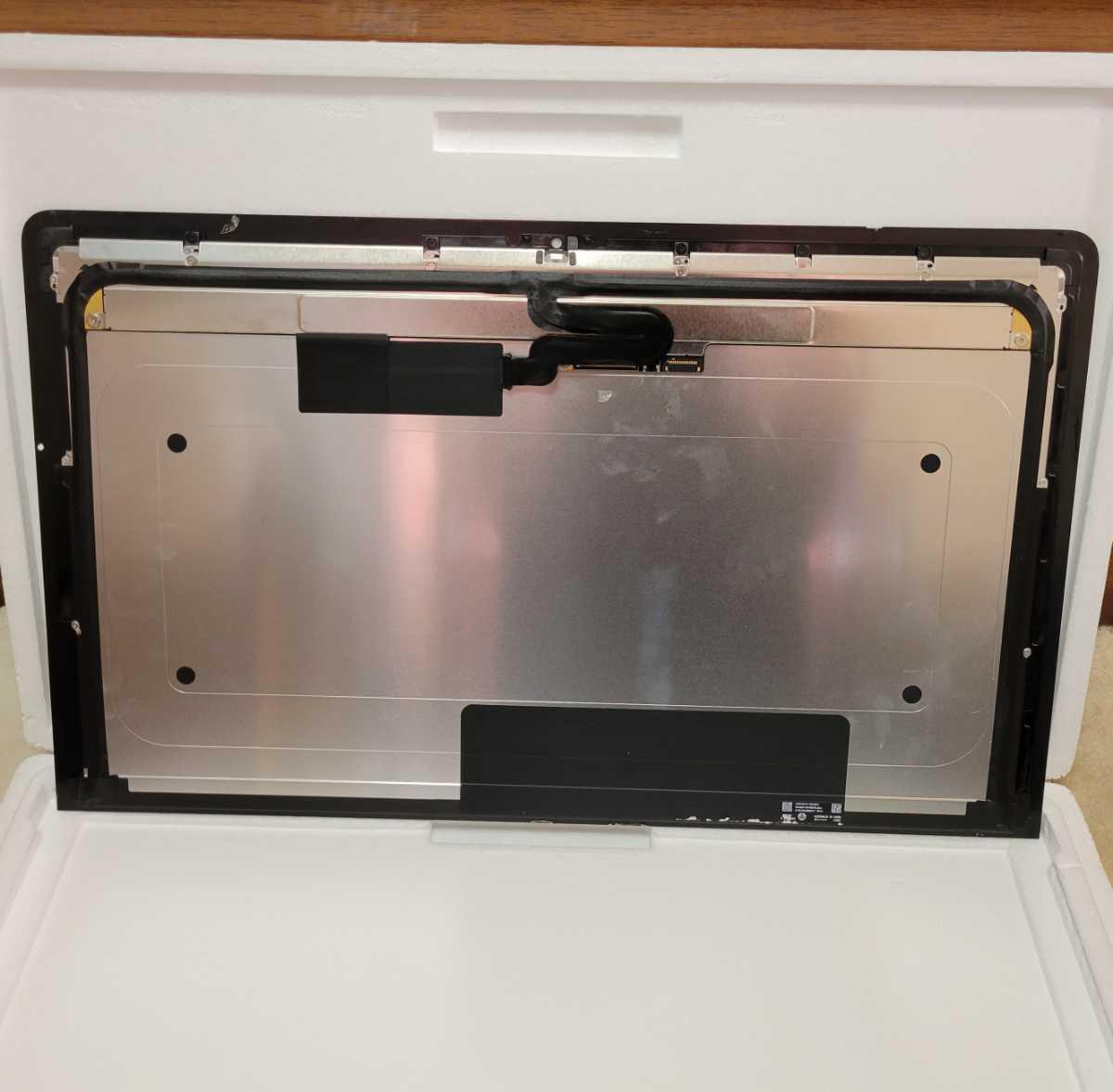 iMac 21.5-inch 4K ディスプレイ 割れ ジャンク_画像2
