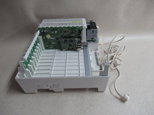 Ω保証有 Σ 2423) PT1000ⅡPro サクサ SAXA PLATIAⅡ M型主装置 中古ビジネスホン 領収書発行可能 19年製 V6.10 取扱説明書付_画像3