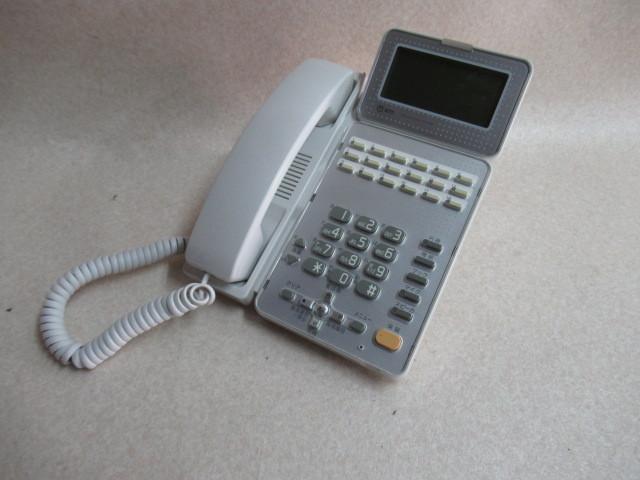 Ω保証有 ZU2 2478) GX-(18)STEL-(2)(W) NTT αGX 18ボタン標準スター電話機 中古ビジネスホン 領収書発行可能 同梱可 西仕_画像2