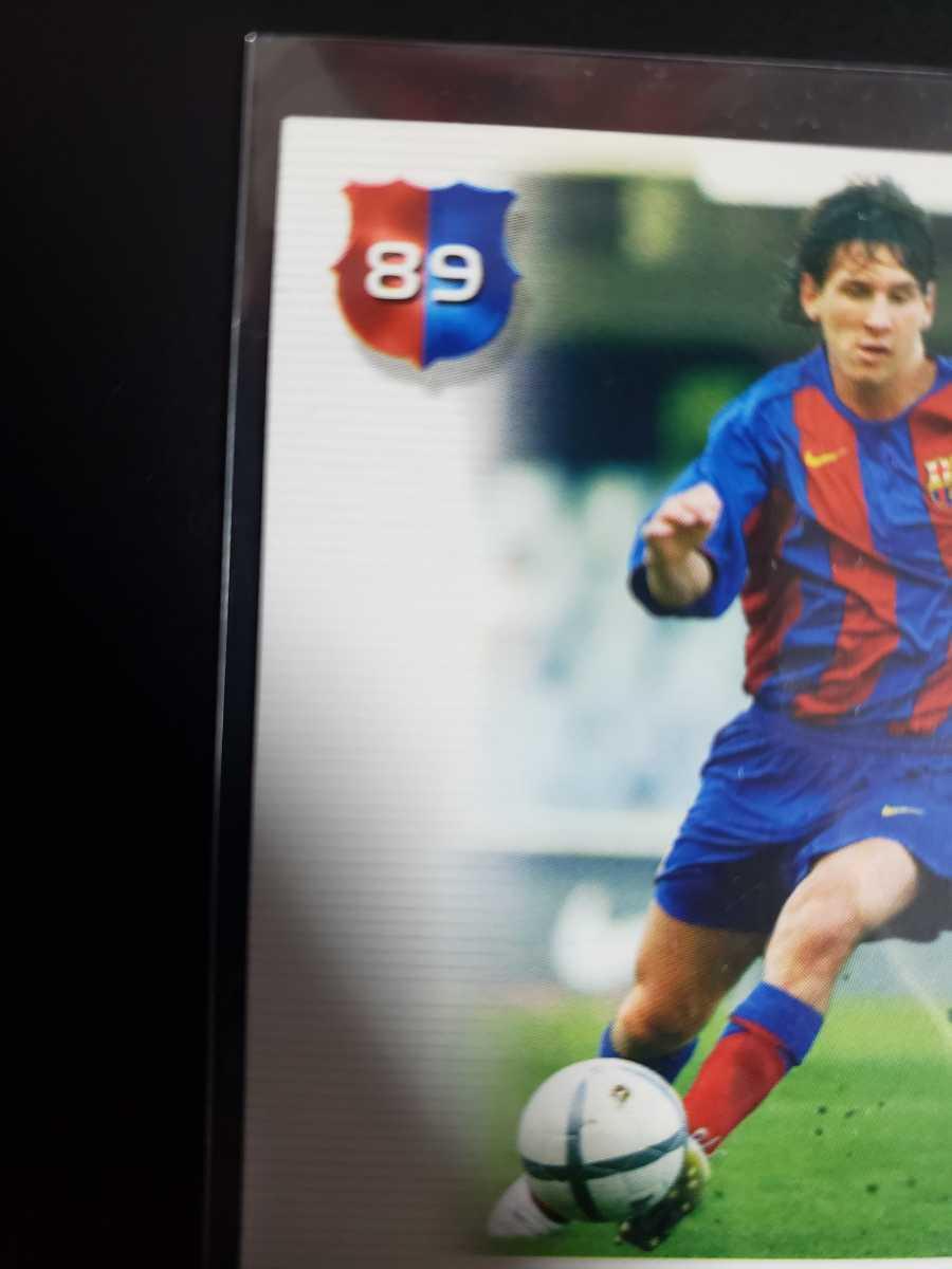高騰中【Rookie Card】メッシ プリントサイン Panini 2005 Barca Lionel Messi 2004-2005バルセロナ 優勝記念 アルゼンチン_画像9