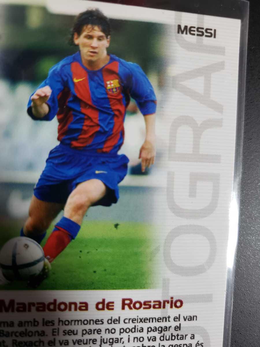高騰中【Rookie Card】メッシ プリントサイン Panini 2005 Barca Lionel Messi 2004-2005バルセロナ 優勝記念 アルゼンチン_画像10