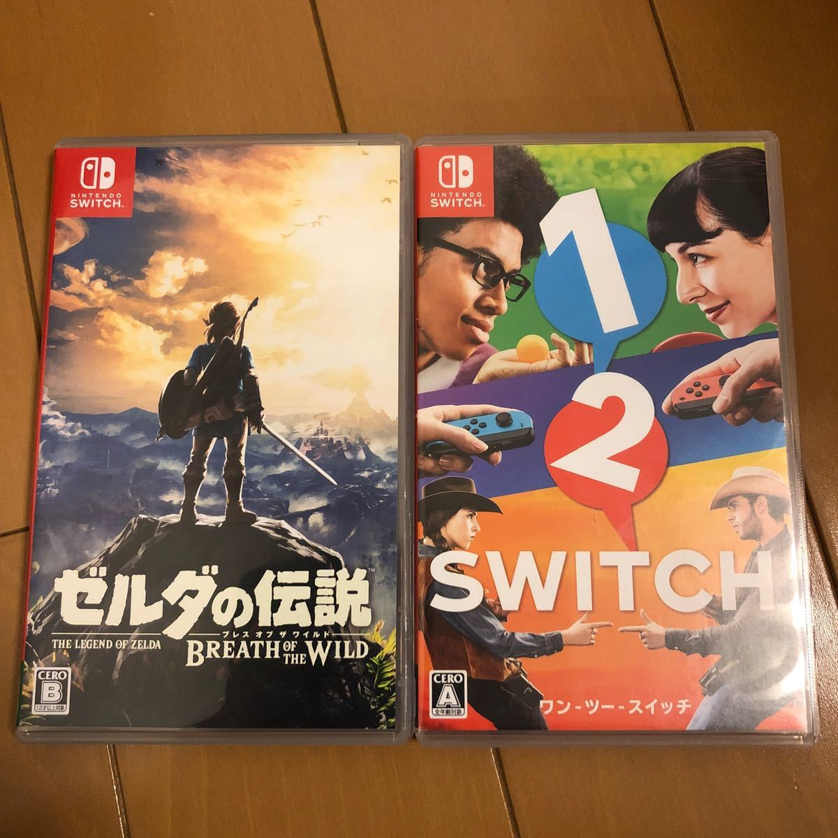 Switchソフト2本セット