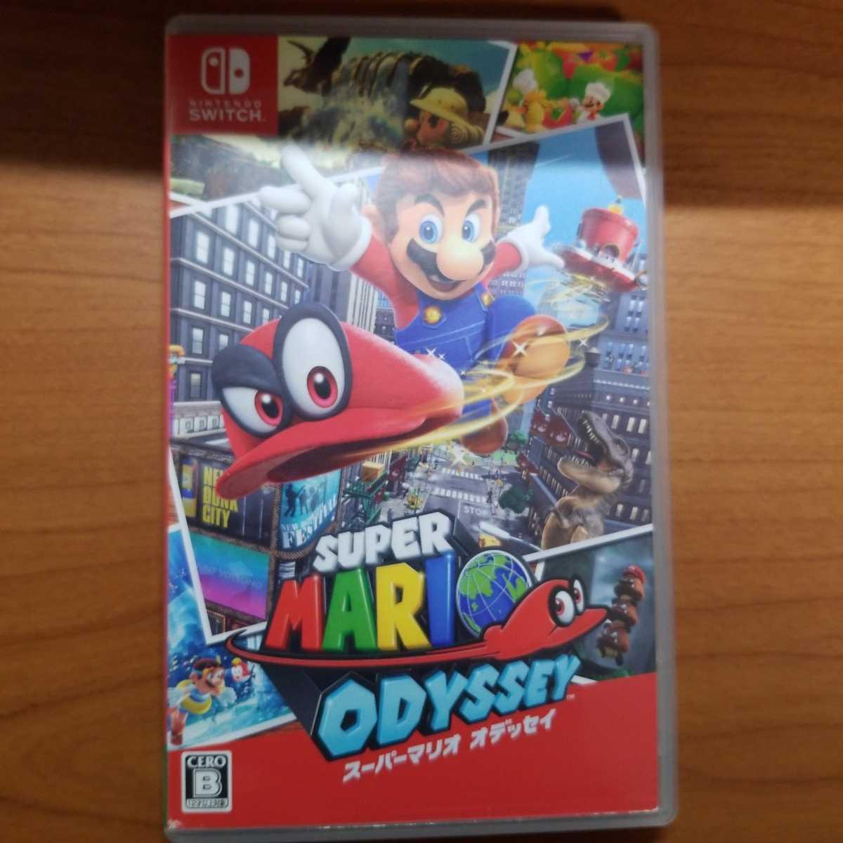 Switch スーパーマリオオデッセイ Nintendo Switch スーパーマリオ オデッセイ ニンテンドースイッチ ソフト 送料無料 ⑦