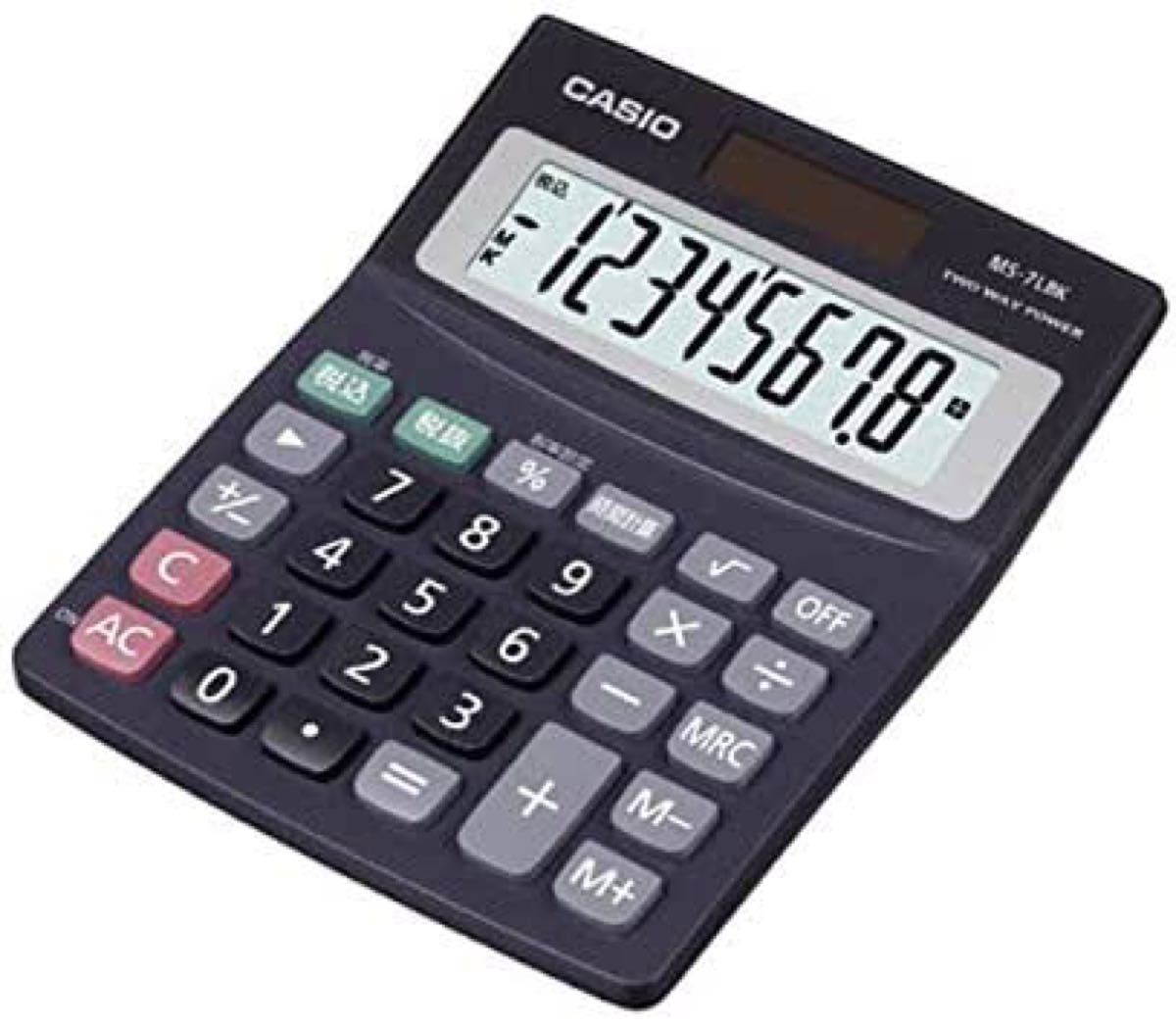CASIO カシオ 電卓 計算機 時間計算 税計算