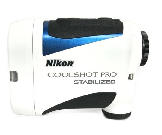 Nikon COOLSHOT PRO STABILIZED ゴルフ用 レーザー 距離計 クールショットプロ ニコン 中古 S5472664_画像1
