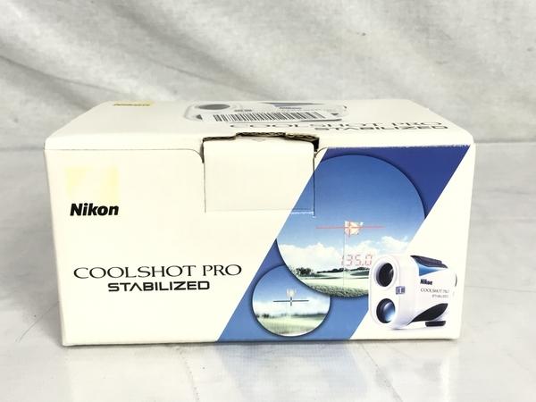 Nikon COOLSHOT PRO STABILIZED ゴルフ用 レーザー 距離計 クールショットプロ ニコン 中古 S5472664_画像10