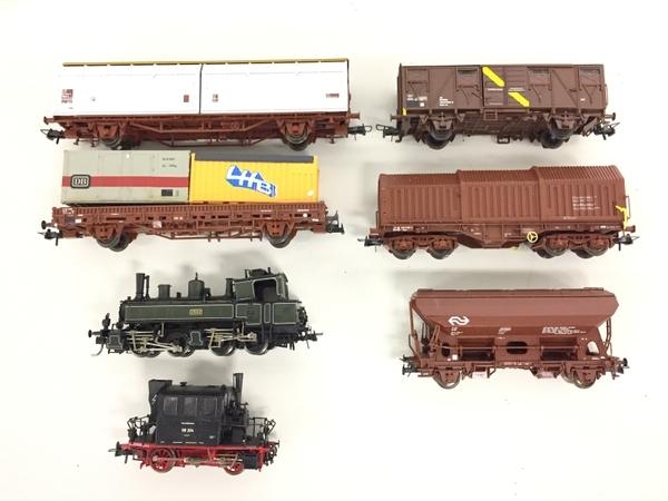 ジャンク Roco ロコ 貨車 7両 セット HOゲージ 鉄道模型 K5497610