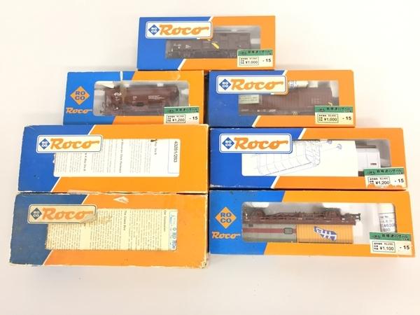ジャンク Roco ロコ 貨車 7両 セット HOゲージ 鉄道模型 K5497610_画像4