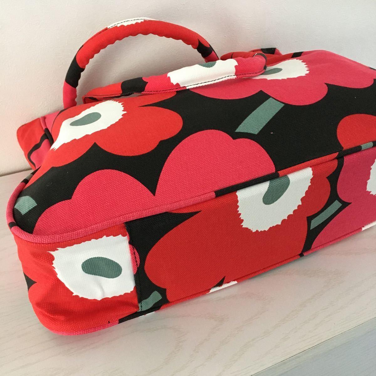 新品 Marimekko マリメッコ トートバッグ  ウニッコ