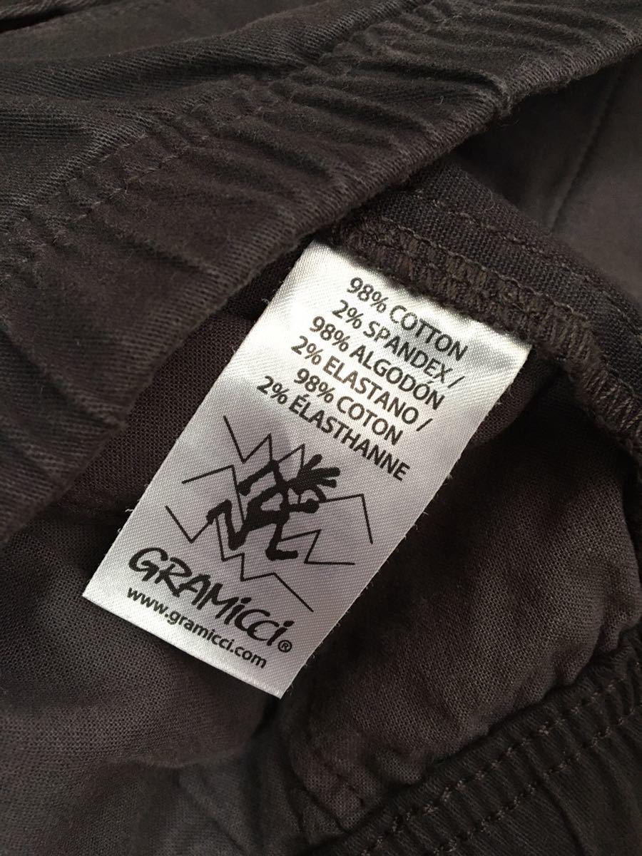 グラミチ TOKYO G PANT ボトム S パンツ 黒 ブラック_画像6