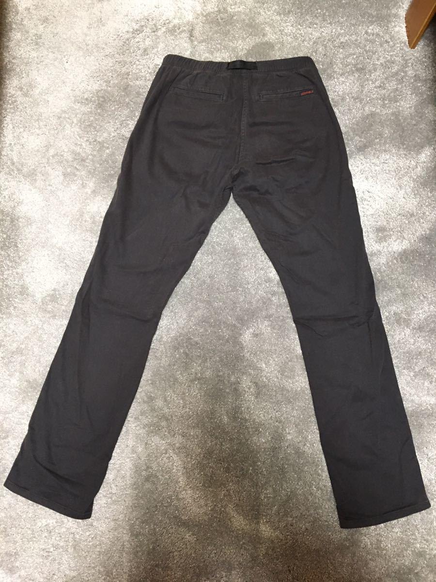 グラミチ TOKYO G PANT ボトム S パンツ 黒 ブラック_画像2
