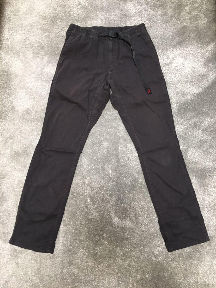 グラミチ TOKYO G PANT ボトム S パンツ 黒 ブラック_画像1