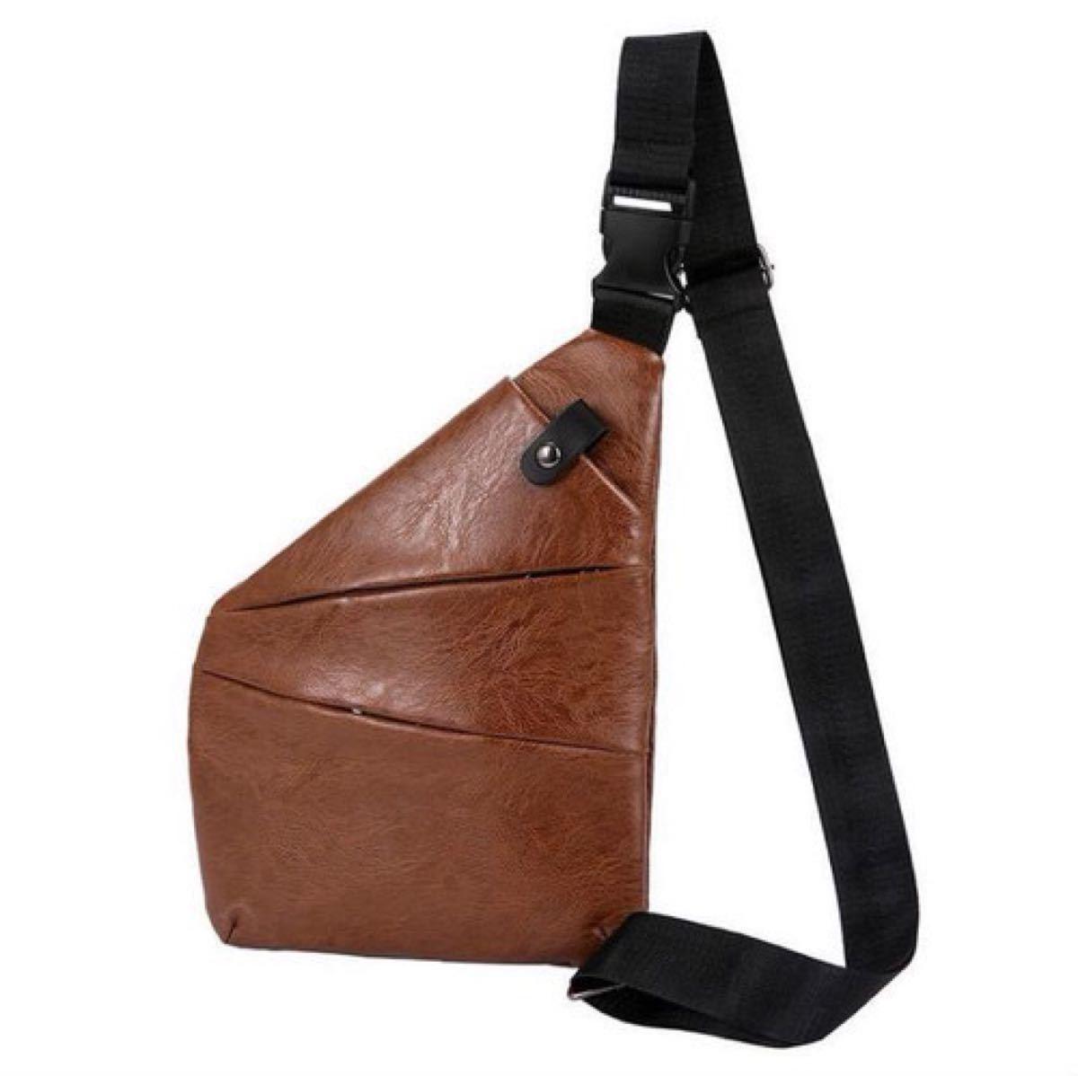 ボディバッグ ボディーバッグ ショルダーバッグ メンズ ブラウン 小物 鞄 ポケット 高品質 斜め掛け 斜め掛けバッグ 斜め掛け