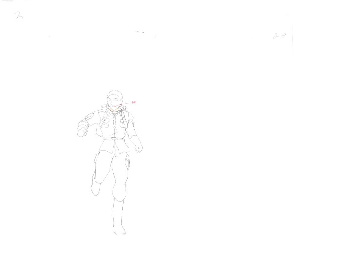 ガンダム セル画 ②    ♯ 原画 動画 レイアウト イラスト 設定資料 アンティーク_画像2