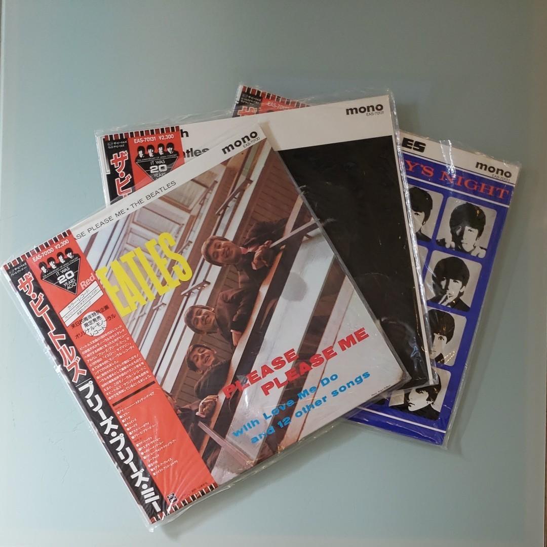 ザ・ビートルズ   来日20周年記念 オリジナルモノレコードボックス
