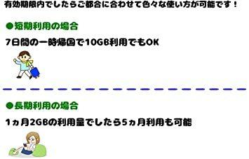 10GB SOFTBANK 回線に接続!日本で使う4G LTE高速回線接続10GB データ通信専用 プリペイドSIM_画像4