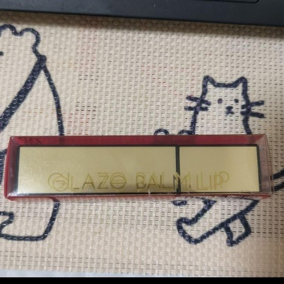 エクセル グレイズバームリップ GB01 レッドガーネット 口紅