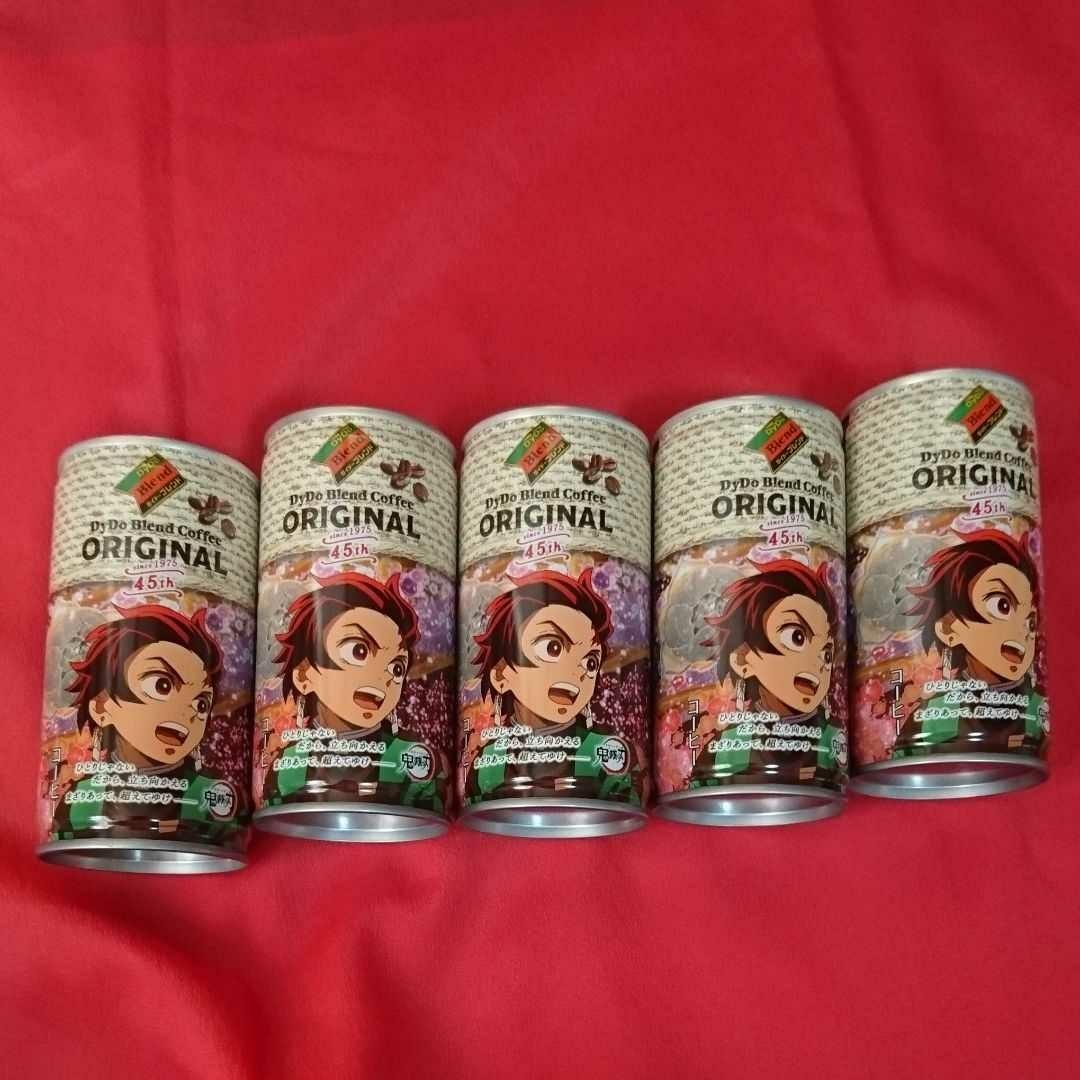 鬼滅の刃×ダイドーブレンドコーヒー   コラボ缶 5缶セット