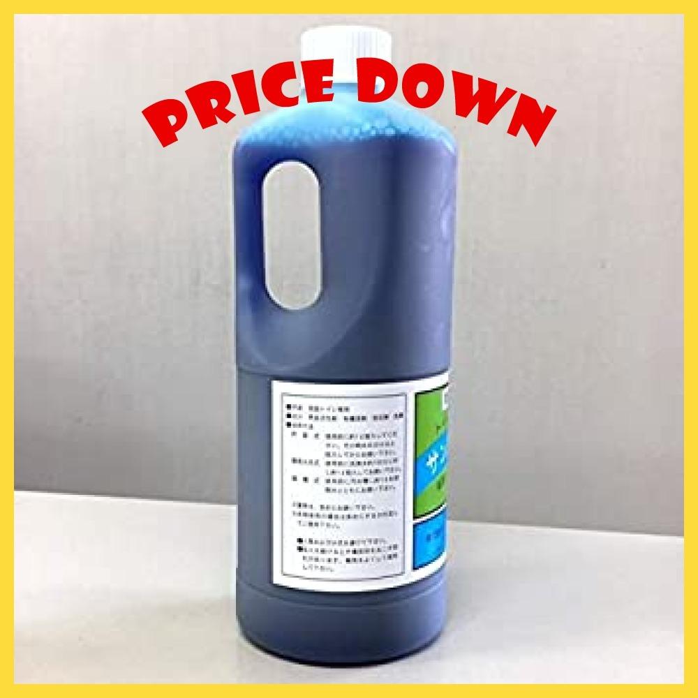 1リットル入り 3本 業務用 仮設トイレ 消臭剤 サンブルー ウジ虫対策 防虫 1リットル 3本セット_画像2