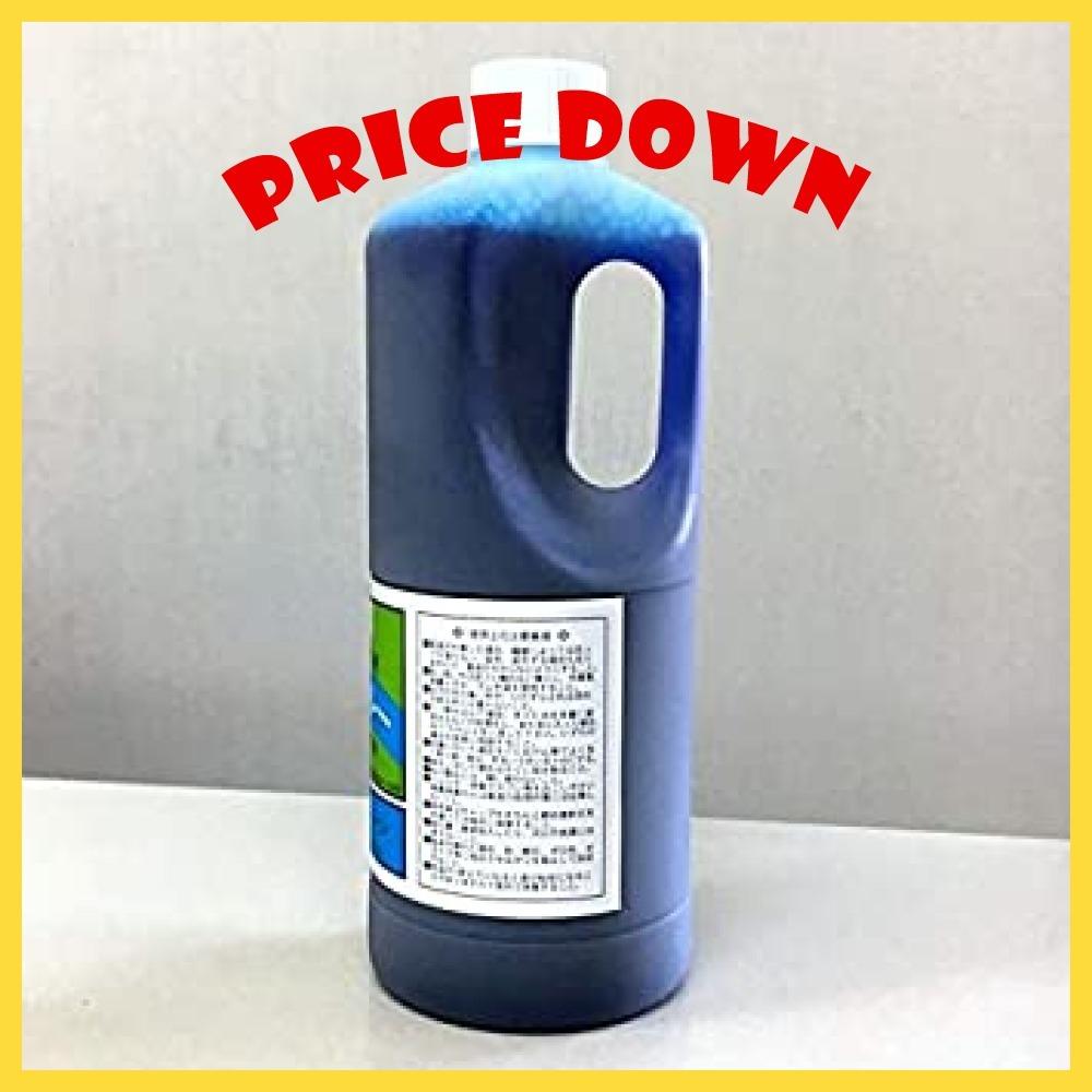 1リットル入り 3本 業務用 仮設トイレ 消臭剤 サンブルー ウジ虫対策 防虫 1リットル 3本セット_画像3