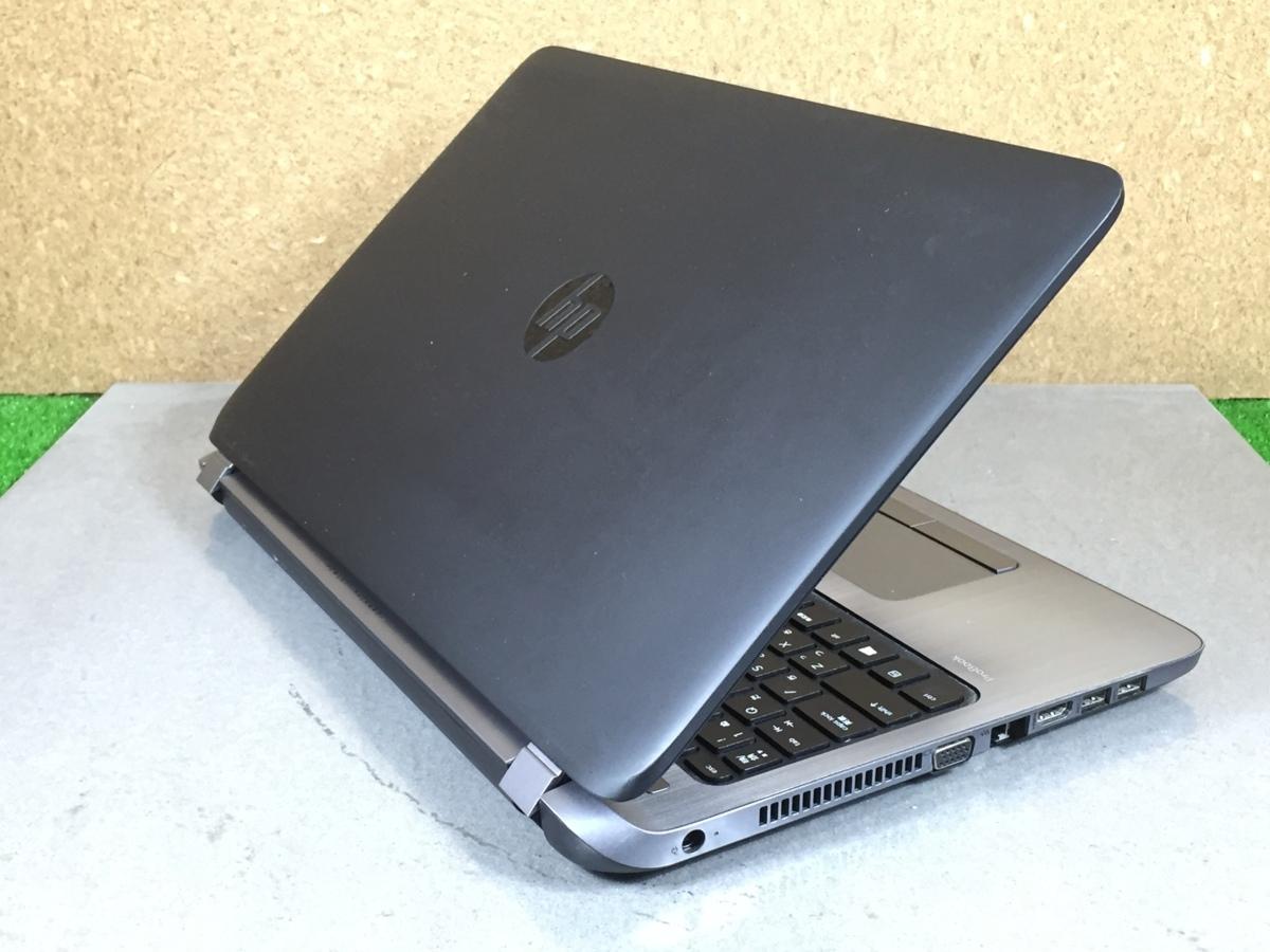 Windows10/office搭載/Webカメラ搭載!ビデオ通話対応【HP ProBook 450 G2】Core i5-5200U/メモリ4GB/新品SSD120GB_画像6