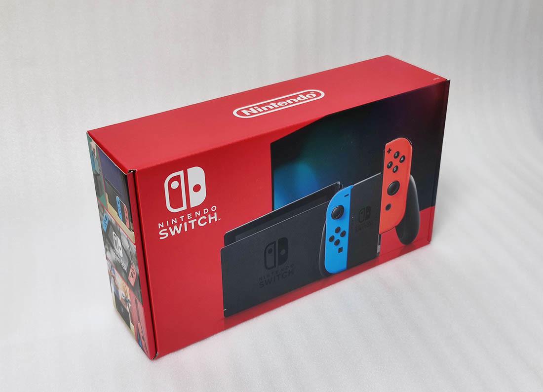 【新品】任天堂 ニンテンドースイッチ 本体 Joy-Con(L) ネオンブルー/(R) ネオンレッド Nintendo Switch バッテリー拡張版 新モデル