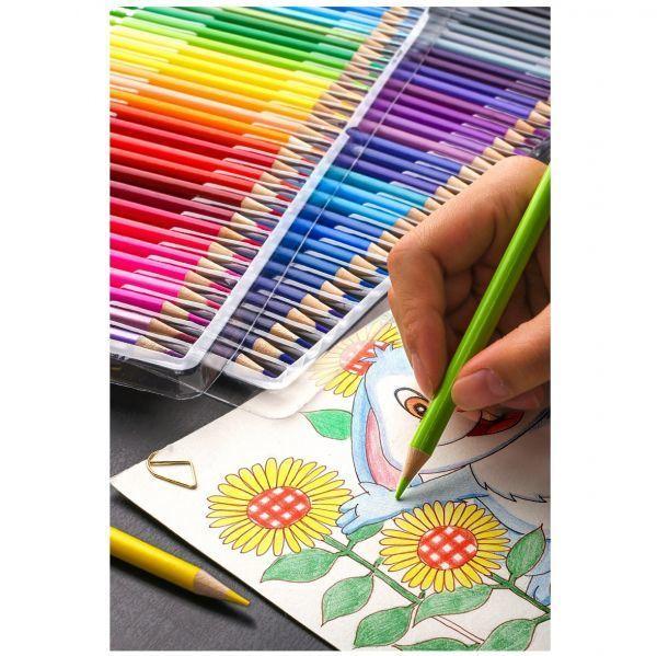 色鉛筆 160カラー 芸術 ぬりえ 工作 美術 絵 イラスト_画像7
