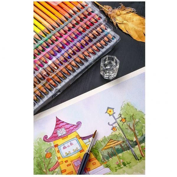 色鉛筆 160カラー 芸術 ぬりえ 工作 美術 絵 イラスト_画像8