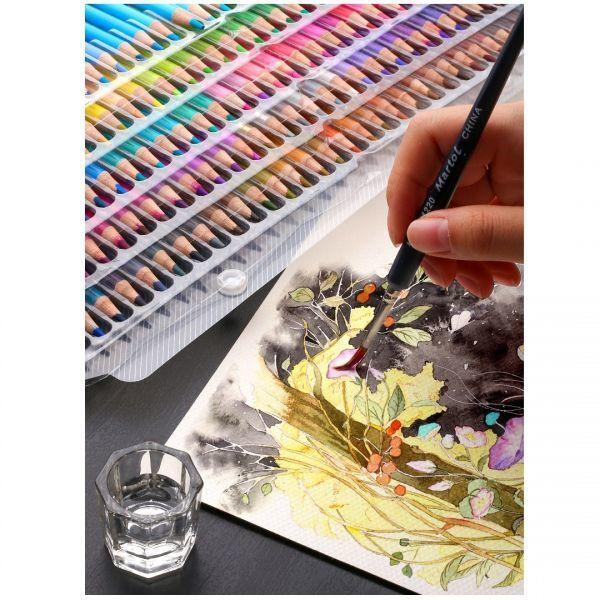 色鉛筆 160カラー 芸術 ぬりえ 工作 美術 絵 イラスト_画像9